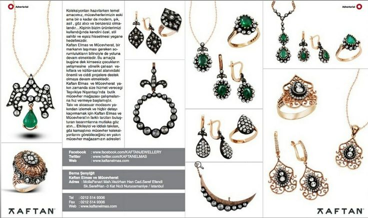 Ottoman style jewellery