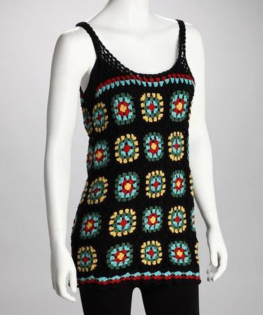 Crochet Granny Square Tunic Pattern : 78 Best images about Granny Square -- Clothing -- Crochet ...