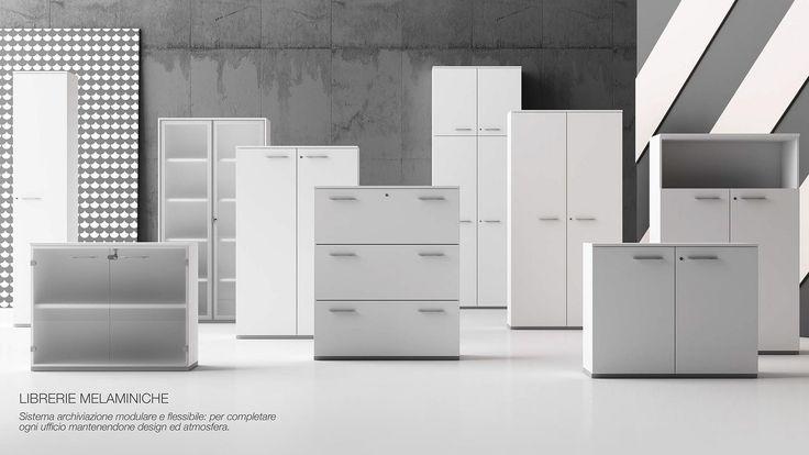 #Librerie #ufficio #arredoufficio #fornituraufficio #mobiliufficio #progettazione