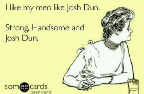 Pretty much sums up my future relationships: If there is no version of Josh Dun that is near my age I will live alone for eternity.