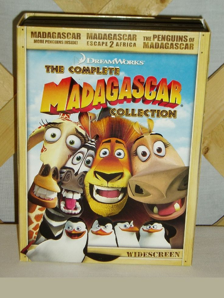 Dreamworks the complete madagascar collection dvd set