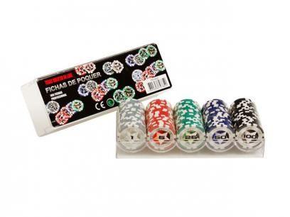 Jogo de Poker Profissional 100 Fichas - Incasa FN0005 com as melhores condições você encontra no Magazine Raimundogarcia. Confira!