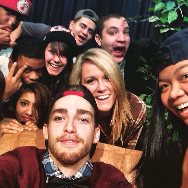 Production Class Ellen Selfie