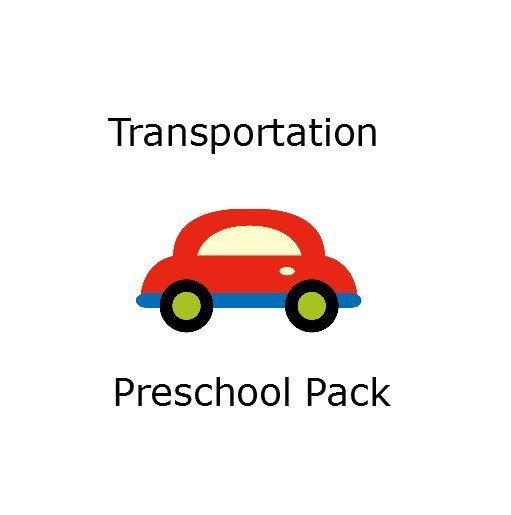 Lesson Plan  Preschool Transportation Pack  by HomegrownLove101, $1.00