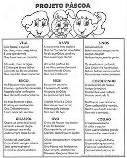 ESPAÇO EDUCAR: Plano de Aula para a Páscoa cristã - Muitas atividades!