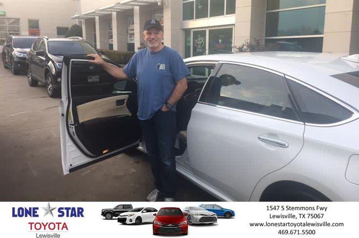 Congratulations Craig on your #Toyota #Avalon Hybrid from Chris Richardson at Lone Star Toyota of Lewisville!  https://deliverymaxx.com/DealerReviews.aspx?DealerCode=E208  #LoneStarToyotaofLewisville