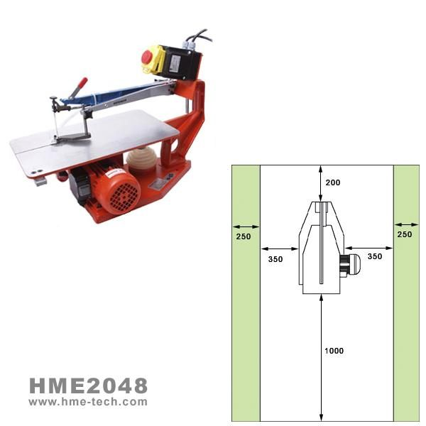 HME2048 - Fretsaw - Hegner Multicut 2S (Single Speed, 1 Phase)