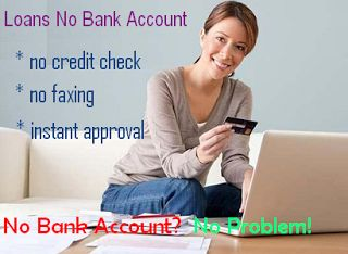 Get Instant Loans Without Bank Account! | Payday Loans No Bank Account