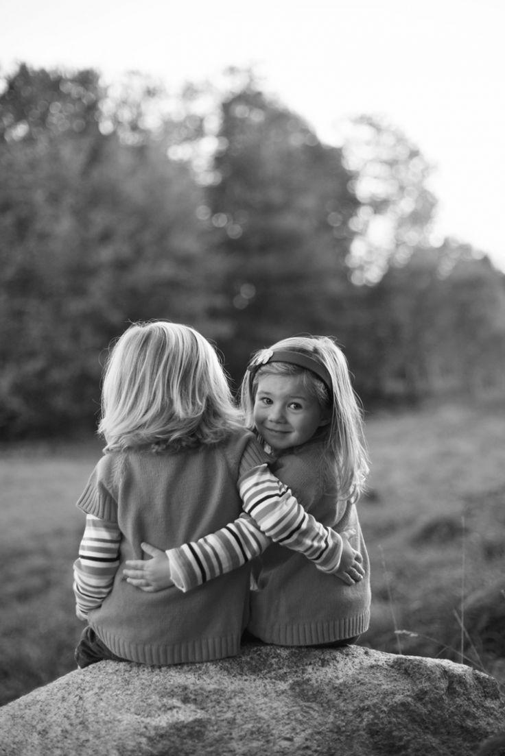 sisters pose, fall family photo shoot, maine photographer    Jaimee C Photography