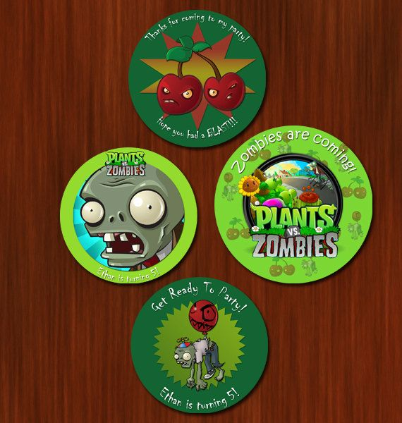 42 best Plants vs zombie theme bday party images – Zombie Party Invitations Free