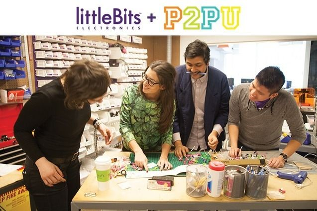 #InventAnything a FREE online course by LittleBits + P2PU #STEM #MAKE