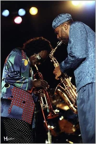 Miles & Kenny Garrett