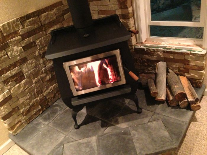 Our DIY Woodstove Installation | The Prairie Homestead