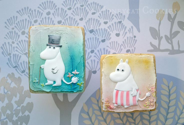 Moominpappa and Moominmamma | Cookie Connection