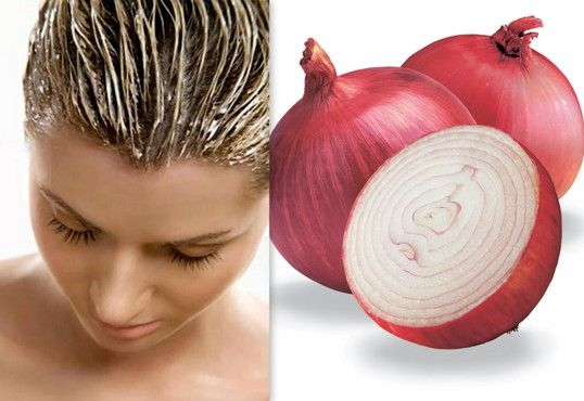 #Onion is an ingredient that plays a vital role in enhancing hair growth. Applying this #mask all over your #hair is a great choice!