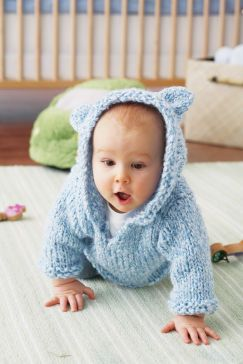 Knitting Pattern Bear Hoodie : Loops and Threads  Bear Hoodie Threads: sewing, knitting ...