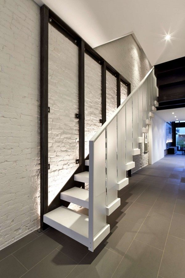 A Modern Row House For A Fun Couple With A Love Of Cooking. Cafe Interior  DesignStaircase ... Part 67