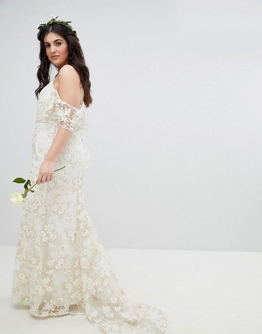 7006d41df1 14 plus-size wedding dresses under  400 that will slay your wedding day   plussizefashion  plussizedresses  plussizemodel  plussizeweddingdresses