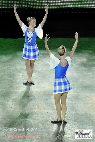 Duo in Dress Blue Wallace