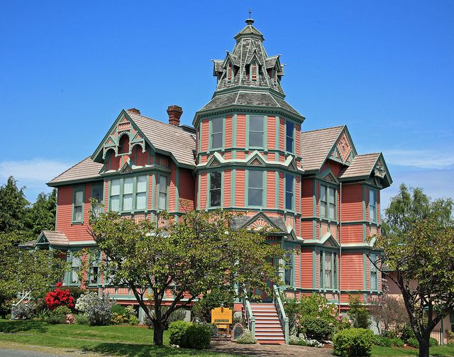 Victorian House In Port Townsend A Charming Town Along