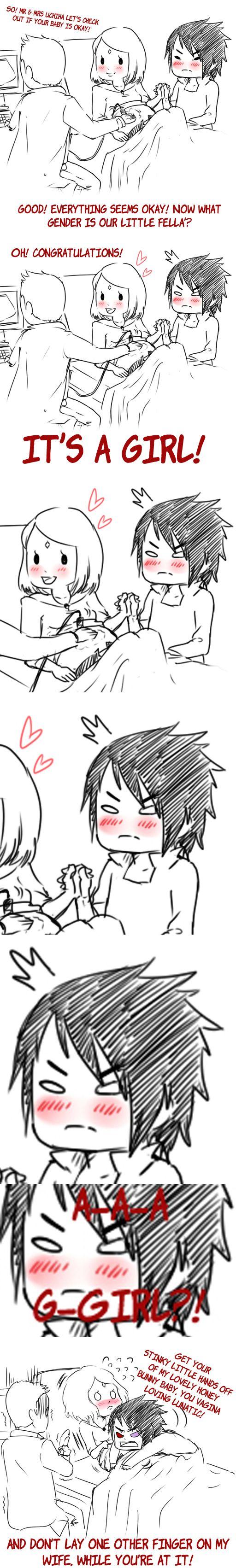 Sasuke! Oh baby!!