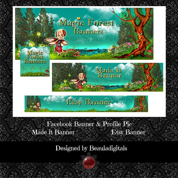 Forest Fairy  PreMade Combination Pack for by Beauladigitals