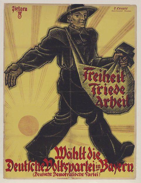 Freiheit+Friede+Arbeit+(Freedom+Peace+Work)%2c+Walenty+Zietara%2c+for+the+German+Democratic+Party%2c+1919