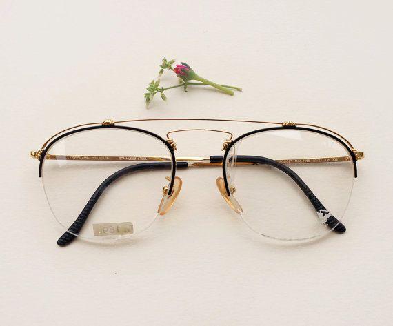 Police Vogart 80s eyeglasses / 1980s NOS aviator by Skomoroki