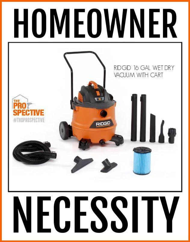 Ridgid Wet Dry Vacuum A Homeowner S Necessity Wet Dry Dust
