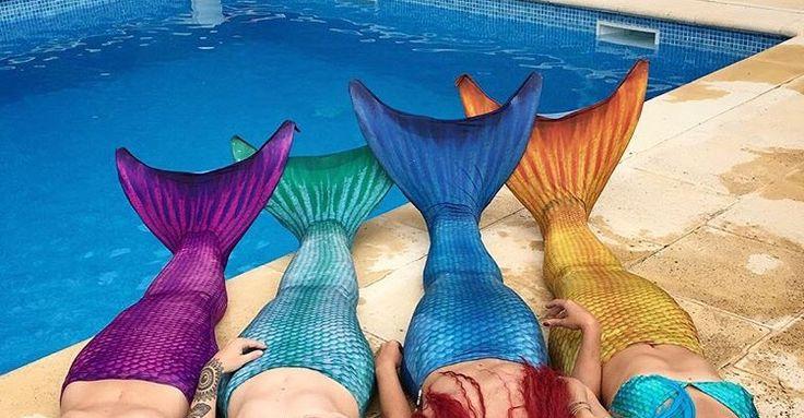 Deniz kızları beraberken çok mutlu! Sen de bize katılsana www.magictail.com.tr