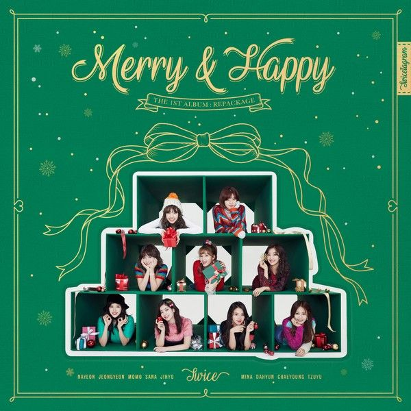 Album] TWICE Merry & Happy [Repackage] (MP3) : Share on