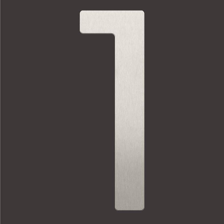 Hausnummer Modern Hausnummern Und Schilder Online Kaufen