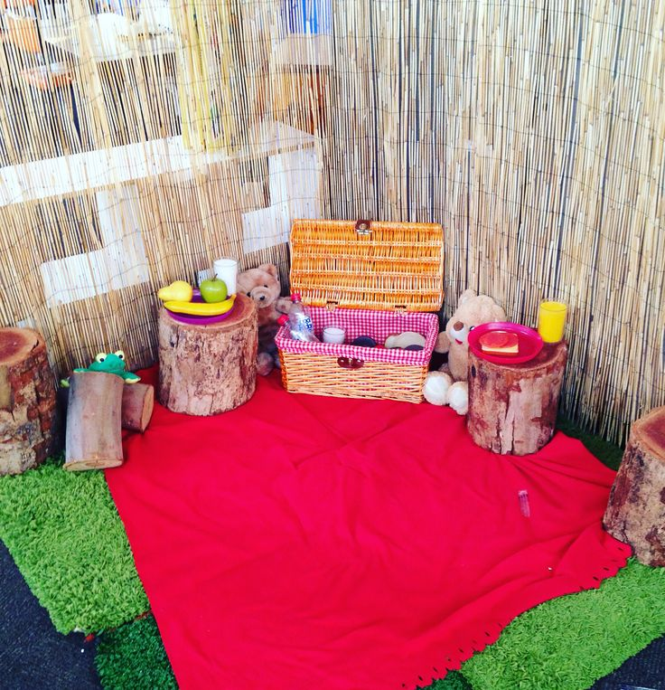 Dramatic play picnic area