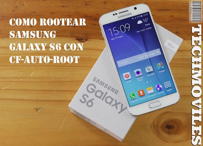 Como Rootear Samsung Galaxy S6 SM-G920F con CF-Auto-Root