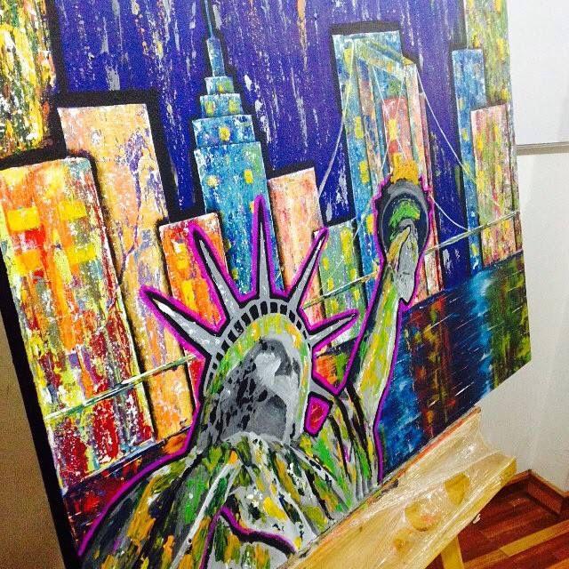 My art new York painting