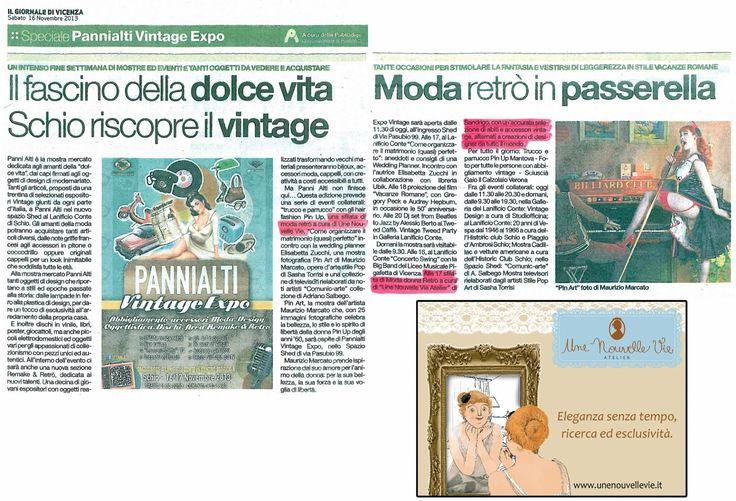Grande successo alla Sfilata di Moda Pannialti Expo di Schio@Il Giornale di Vicenza.
