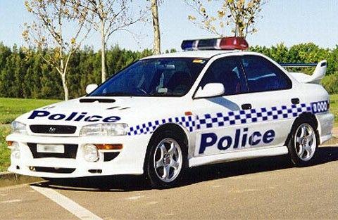 Subary WRX 1998 Victoria Police