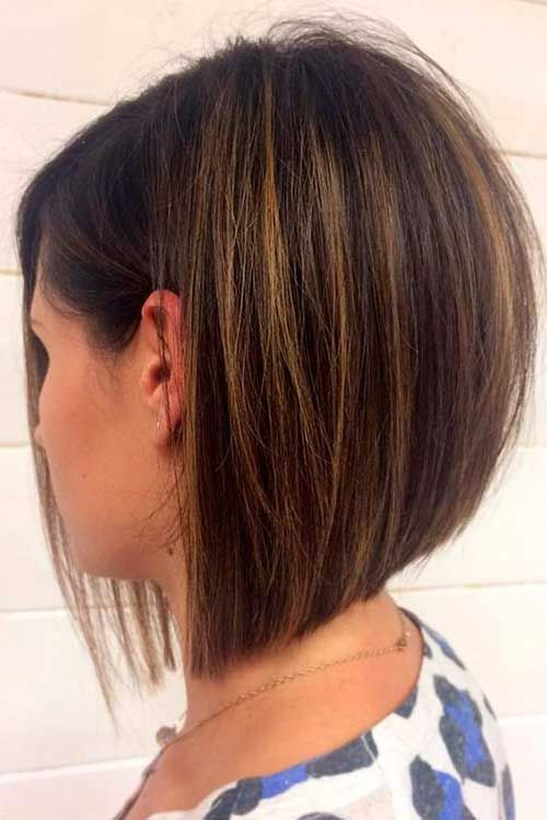 20+ Inverted Bob Hairstyles for Women | Bob Hairstyles 2018 – Short Hairstyles f…