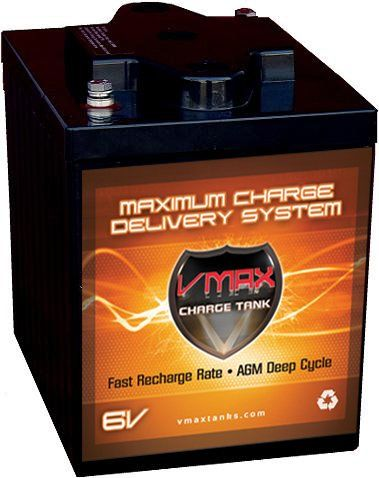VMAX6-225 GC2 AGM Deep Cycle Battery Replacement for Western