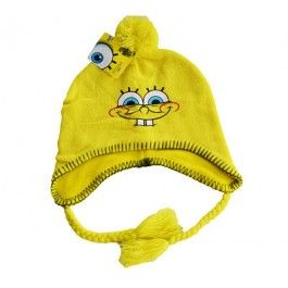 Spongebob Knitted Beanie childs size $21.99