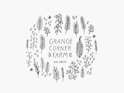 grange corner farm logo by minna may