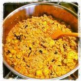 Mijn gerechten - risotto van quinoa en courgette, ui en Parmezaanse kaas.jpg  nogmaals overheerlijk!