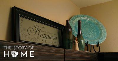 decor above kitchen cabinets   Sure Fit Slipcovers: Decorating Above The Kitchen Cabinets