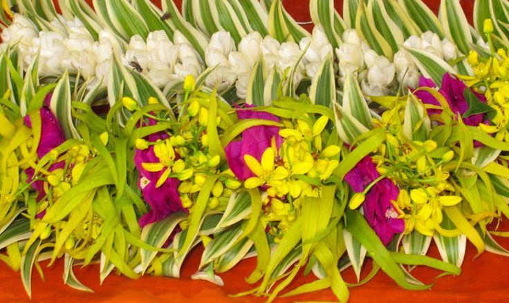 Flower market Tahiti
