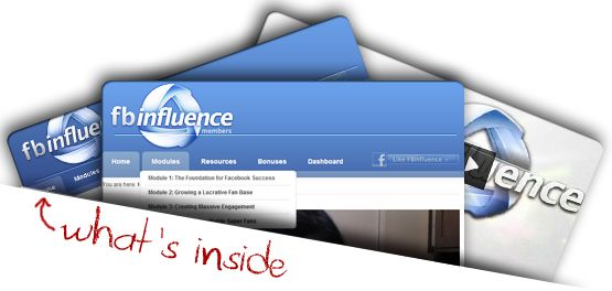 FBinfluence: Your all inclusive guide to Facebook Marketing.
