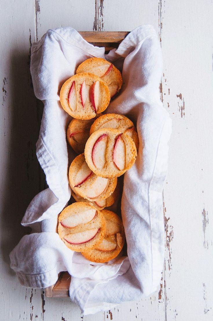 Almond and White Nectarine Financiers