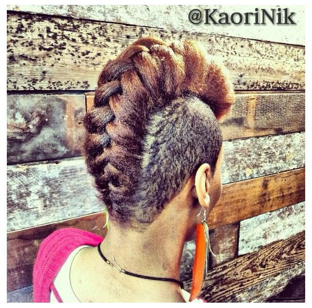 natural hair styles with braids 42 best mohawks images on 1064 | 8ae045ceb2a45e02ac48558d1064ed73 french braid mohawk braided mohawk