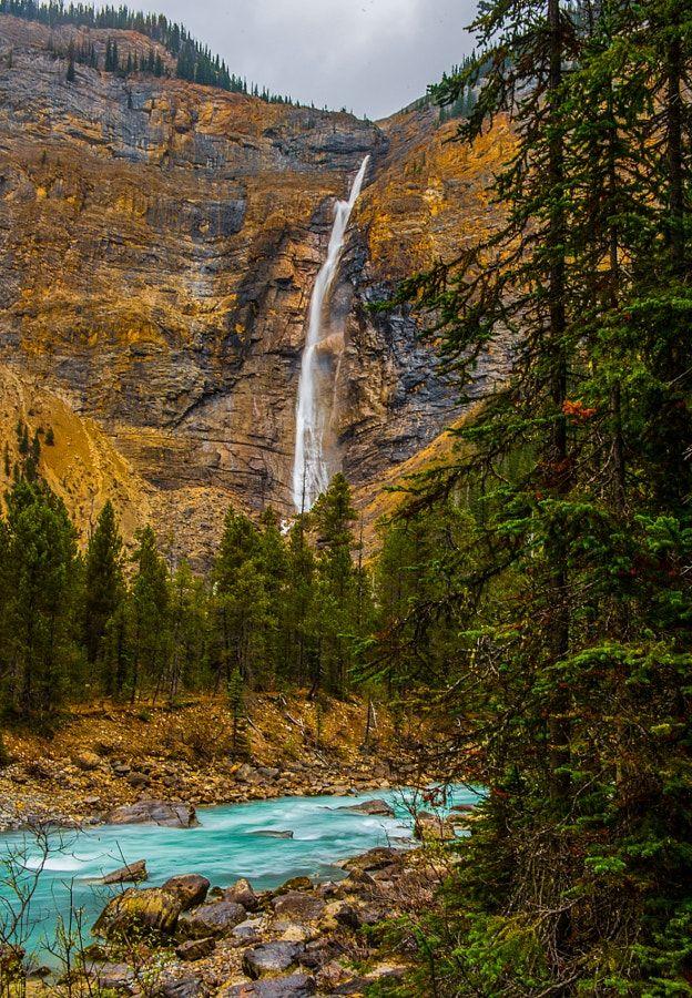 Takakkaw Falls in summer (Yoho, BC) by Mark Bowen / 500px