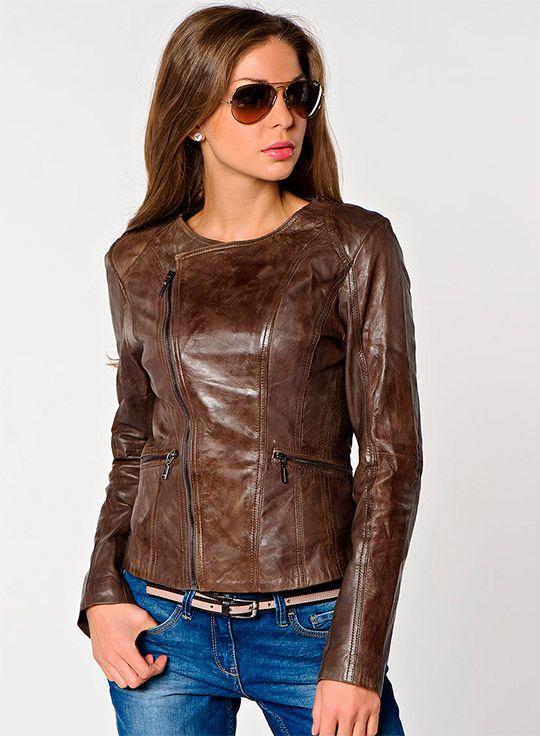 Женские кожаные куртки Весна 2014, женские кожаные куртки с