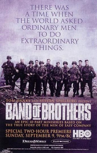 Band of Brothers.....I KNOW ITS A TV SERIES BUT MAN DOES IT SEEM LIKE A MOVIE EVERYTIME